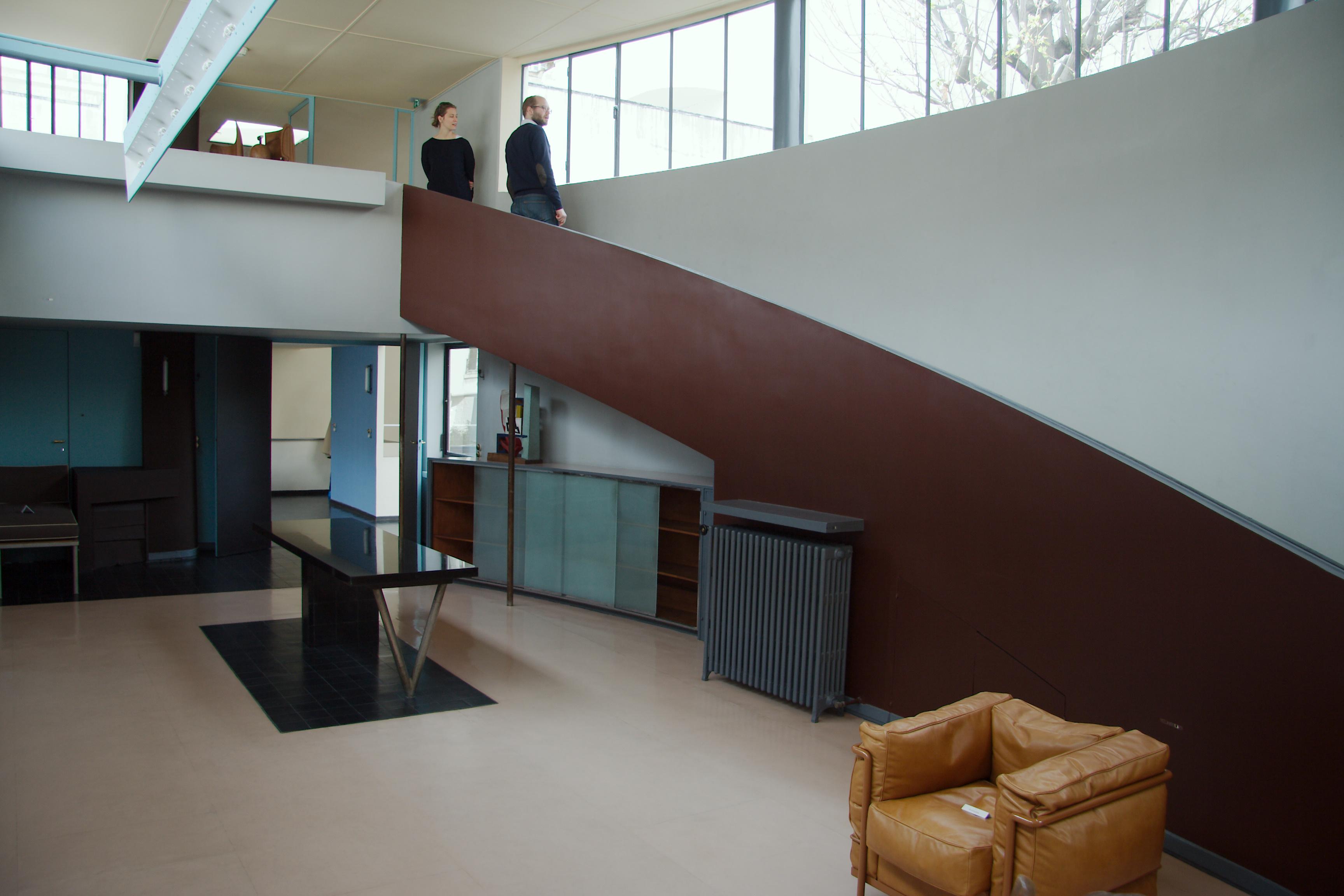 Modernistiske  trender  inspirert  av  Le  Corbusier